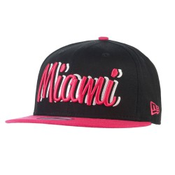 New Era Miami Marlins 9Fifty Candy Scri. black/pink