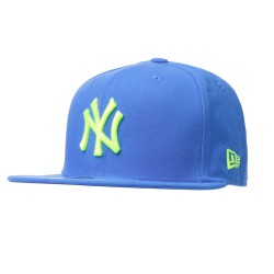 New Era New York Yenkees 59Fifty Seas C. blue/neon green