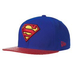 New Era Superman 9Fifty Reptvize blue/red