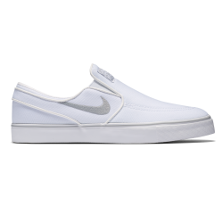 Nike SB Air Zoom Stefan Janoski Slip-On Canvas wht/wolf grey-wht