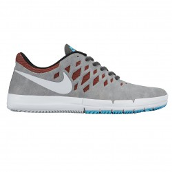 Nike SB Free Sb dark grey/white-team red-black