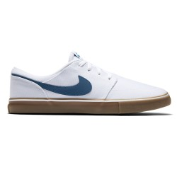 Nike SB Solarsoft Portmore Ii Canvas white/industrial blue-brown