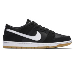 Nike SB Zoom Dunk Low Pro black/white-gum light brown