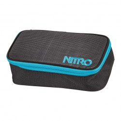 Nitro Pencil Case blur-blue trims