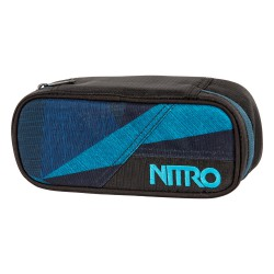 Nitro Pencil Case fragments blue