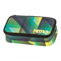 Nitro Pencil Case geo green