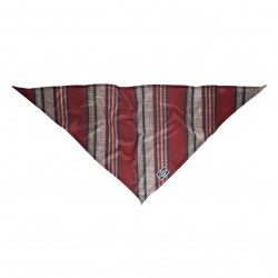 NXTZ Single Layer Bandana garage stripe red