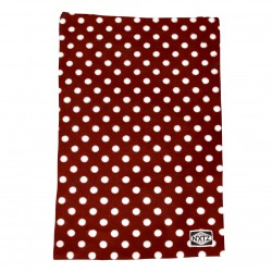 NXTZ Youth Minky Tube polka dot red