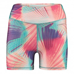 O'Neill Active Shorts pink aop w/ green