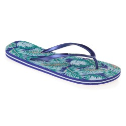 O'Neill Printed blue aop w/ green