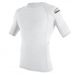 O'Neill Skins Surf School S/s Crew white