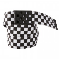 Vans Restrained Web black/checkerboard