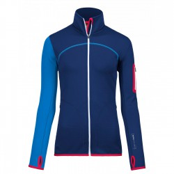 Ortovox Fleece Jacket WMS strong blue