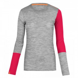 Ortovox Rock'n'wool Long Sleeve WMS grey blend