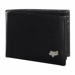 Fox Bifold Leather black