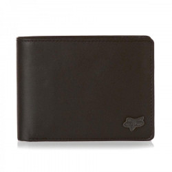 Fox Bifold Leather brown