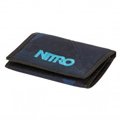 Nitro Wallet fragments blue