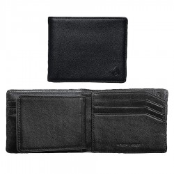 Nixon Pass Bi-Fold Id all black