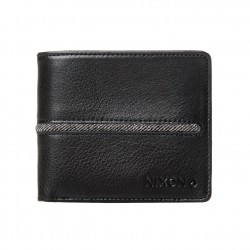 Nixon Coastal Bi-Fold Zip black