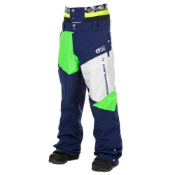 Picture Nova dark blue/white/neon green