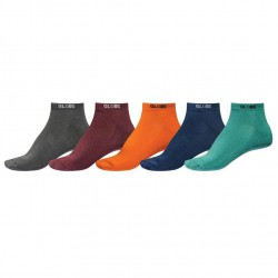 Globe Kensington Ankle Sock 5 Pack assorted