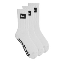 Quiksilver 3 Pack Crew white