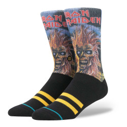 Stance Iron Maiden black
