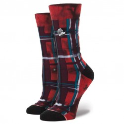 Stance Vicious currant red