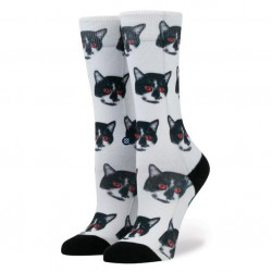 Stance Zombie Cat white