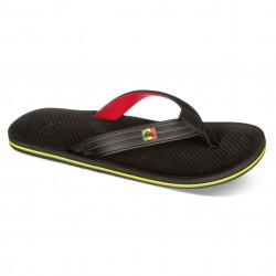 Quiksilver Haleiwa Deluxe black/red/green