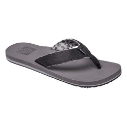 Reef Ponto Prints grey coconut