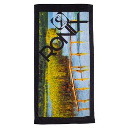 Ronix Beach Towel photo black
