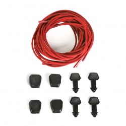 Ronix Lace Lock Kit red