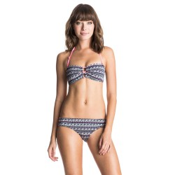 Roxy Bandeau/strappy Scooter wave jacquard combo