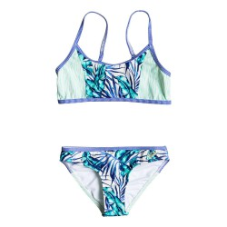 Roxy Geo Mix' In Athletic Set tropical days marshmellow