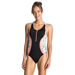 Roxy Keep It Roxy Zipped One Piece anthracite