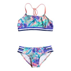 Roxy Retro Summer Halter Set candlelight bali palm