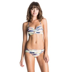 Roxy Twisted Bandeau/base Girl ikat pattern new combo