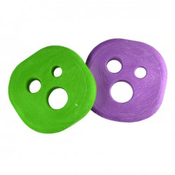 Holesom Fruit Pucks green/purple