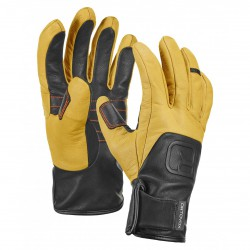 Ortovox Glove Pro Leather light brown