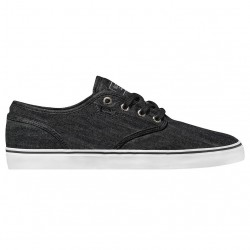 Globe Motley black chambray