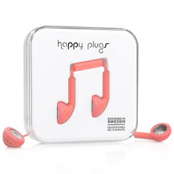 Happy Plugs Earbud coral