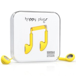 Happy Plugs Earbud yellow