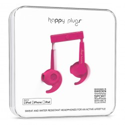 Happy Plugs In-Ear Sport Mfi cerise
