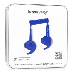 Happy Plugs In-Ear Sport Mfi cobalt