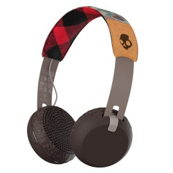 Skullcandy Grind Wireless grey/plaid