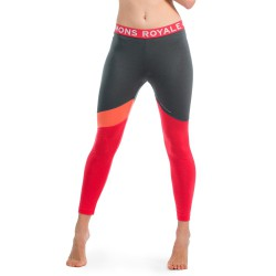 Mons Royale Christy Legging pink/coral/charcoal