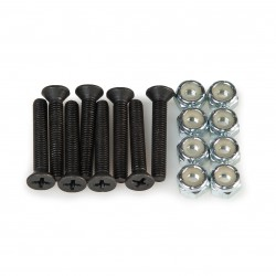 "Mini Logo Nuts & Bolts 1"" 1/4"