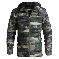 Quiksilver Everyday Scaly four leaf clover resin camo