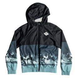 Quiksilver Waves Jacket Youth true black